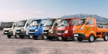 Load Capacity Comparison of all Tata Ace Variants