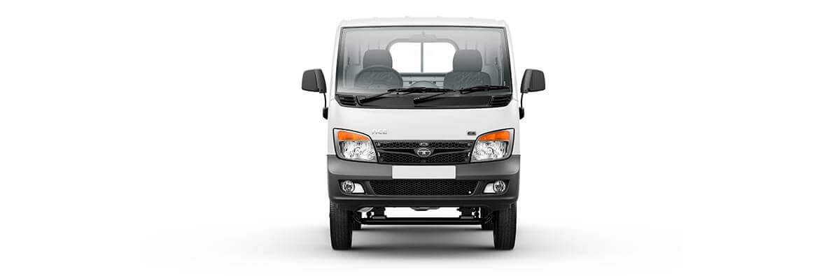 Tata Ace Ex White Flat Front Side