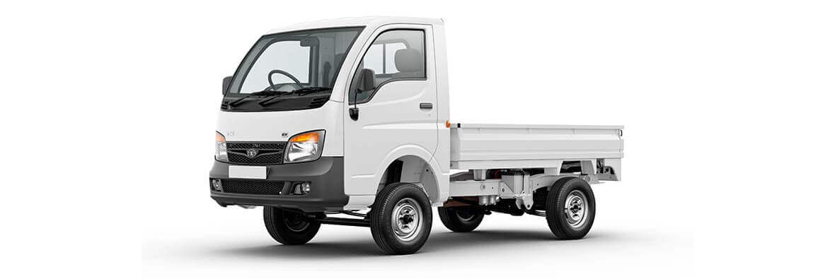 Tata Ace Ex artic white LH View