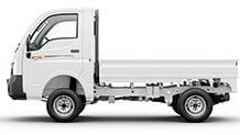Tata Ace White Colour Flat Side View