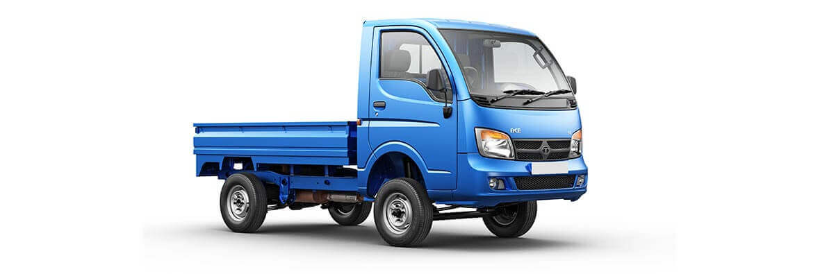 Tata Ace Blue RH Side View
