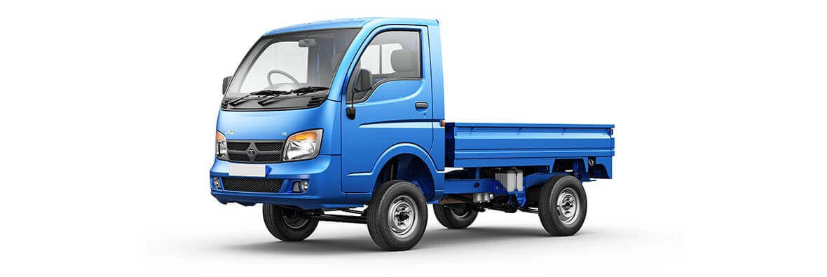 Tata Ace Blue Passenger View side