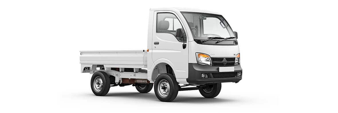 Tata Ace White RH Driver Side View