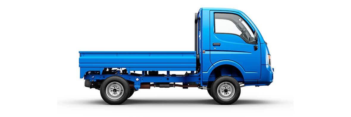 Tata Ace HT Blue Driver Side