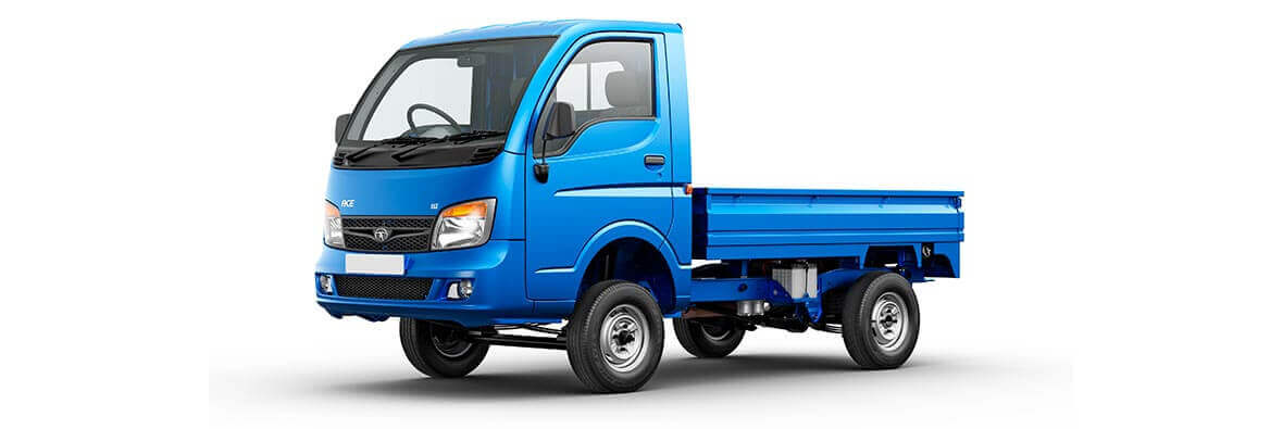 Tata Ace HT Blue LH Side View