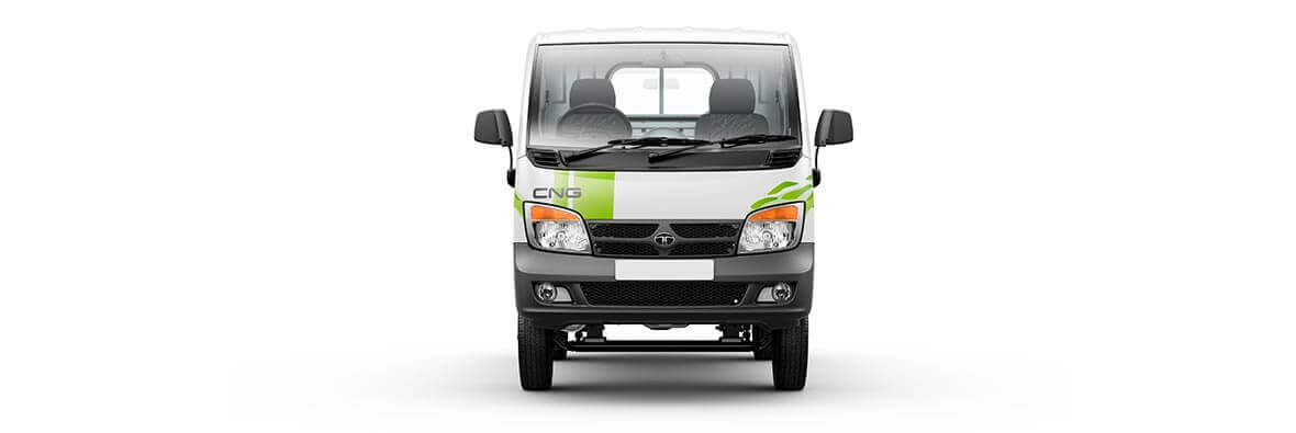 Tata Ace CNG White Front View