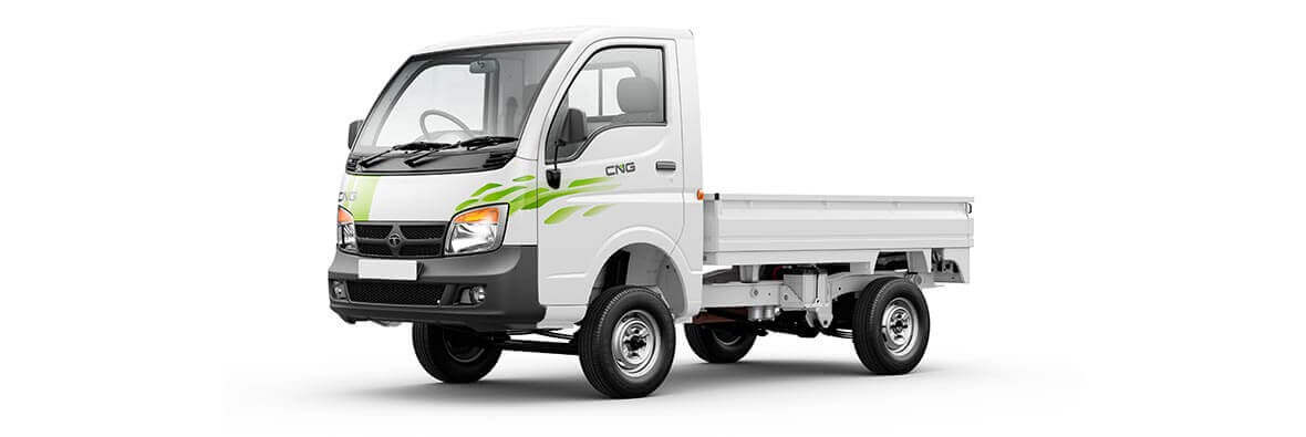 Tata Ace CNG White Passenger View