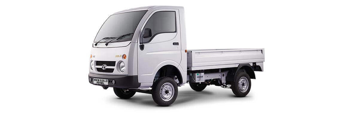 Tata Ace Gold Flat Plain RH view