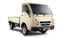 Tata Ace Gold White Pop Up LH Side View