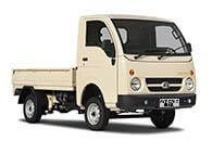 Tata Ace Gold White Pop Up Side View Flat