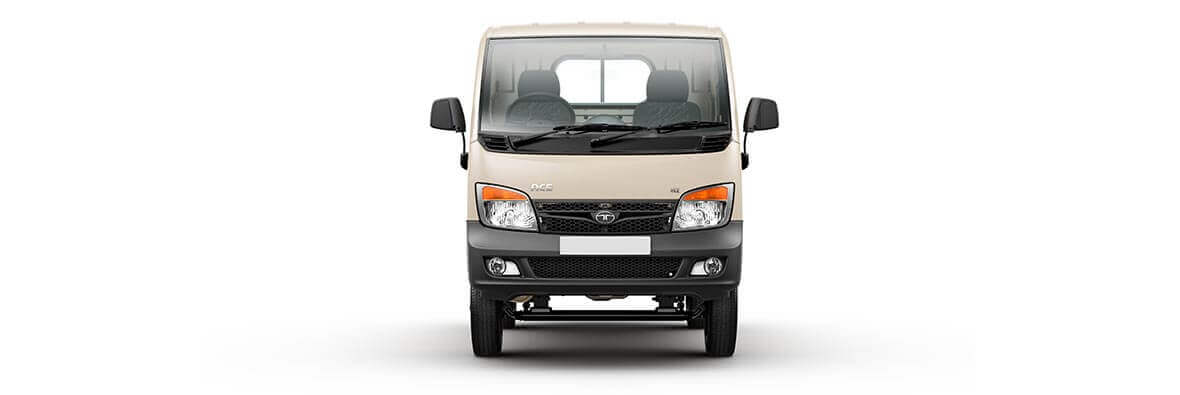Tata Ace Cream Front View