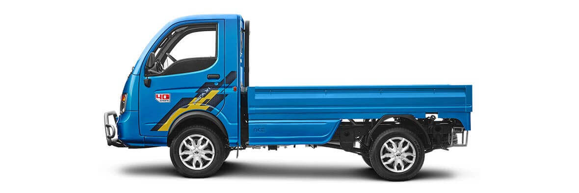 Tata Ace mega XL Flat LH side view
