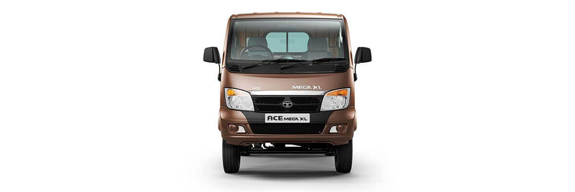 Tata Ace Mega XL Urban Brown Front view