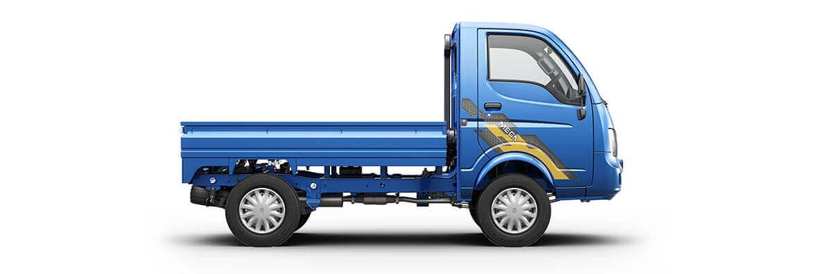 Tata Ace Mega Flat Side View