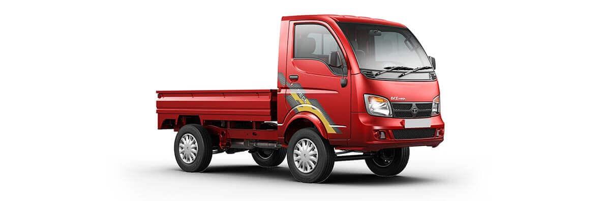 Tata Ace Mega Exterior Laser red