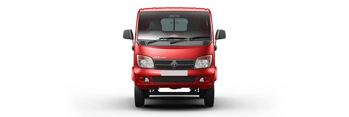 Tata Ace mega Laser red Front view