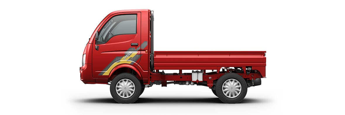 Tata Ace Mega Laser Red