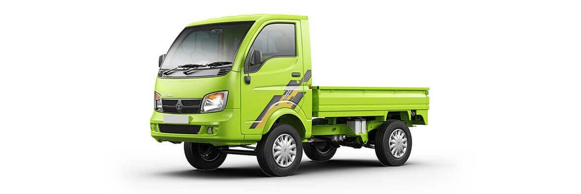 Tata Ace Mega Neon Green