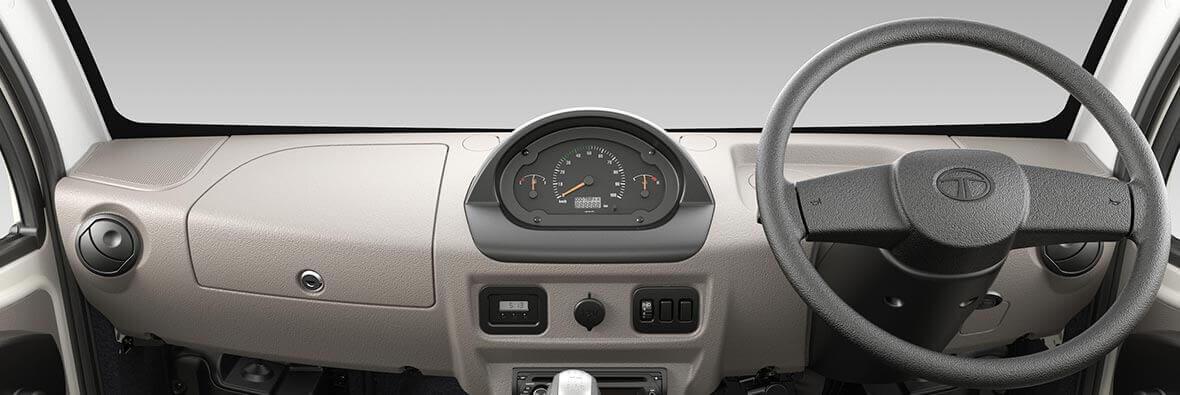Tata Ace Mega Interior Dashboard