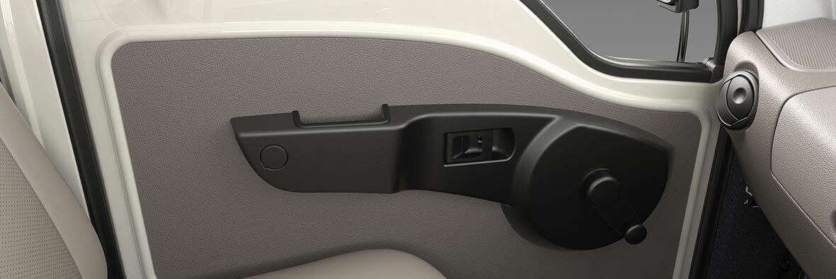 Tata Ace Mega Interior Door Lever view