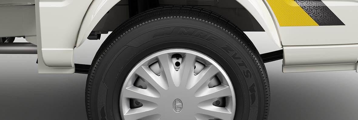 Tata Ace Mega Wheel Interior view