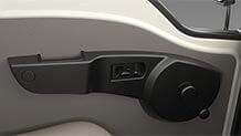 Tata Ace Mega Door From Inside