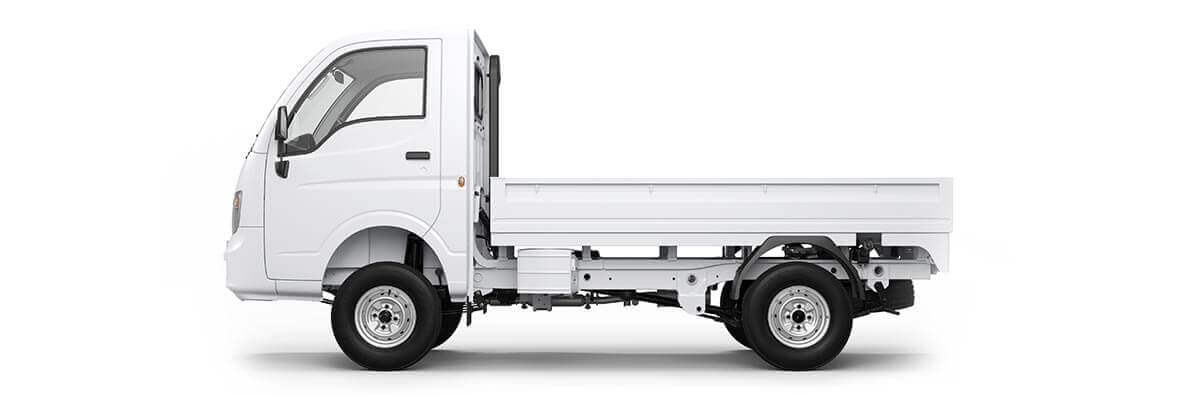 Tata Ace XL White LH Flat view