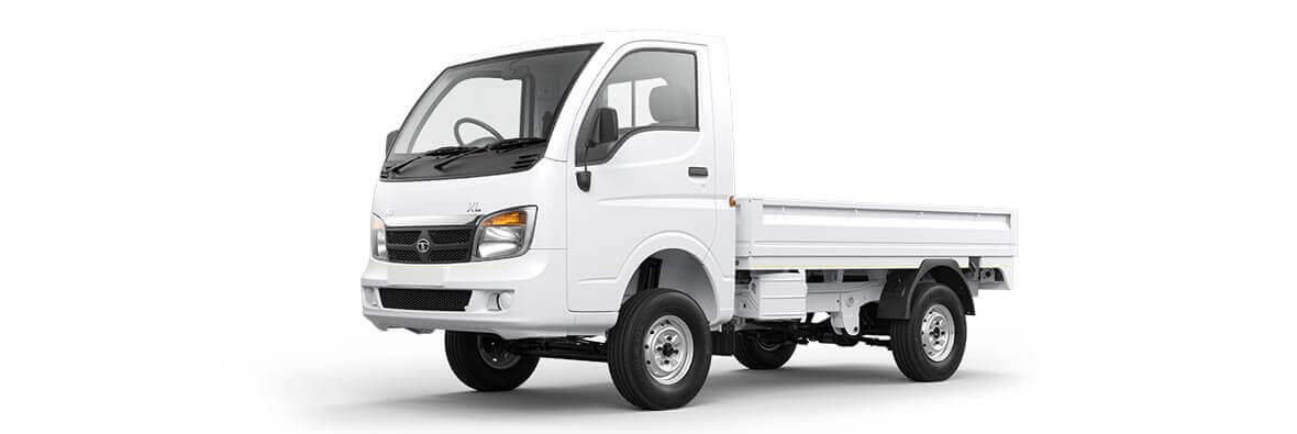 Tata Ace Xl Arctic White Lh View