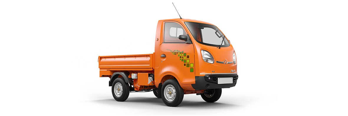 Tata Ace Zip XL Orange Flar RH side view