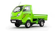 Tata Ace Zip XL Green small side view