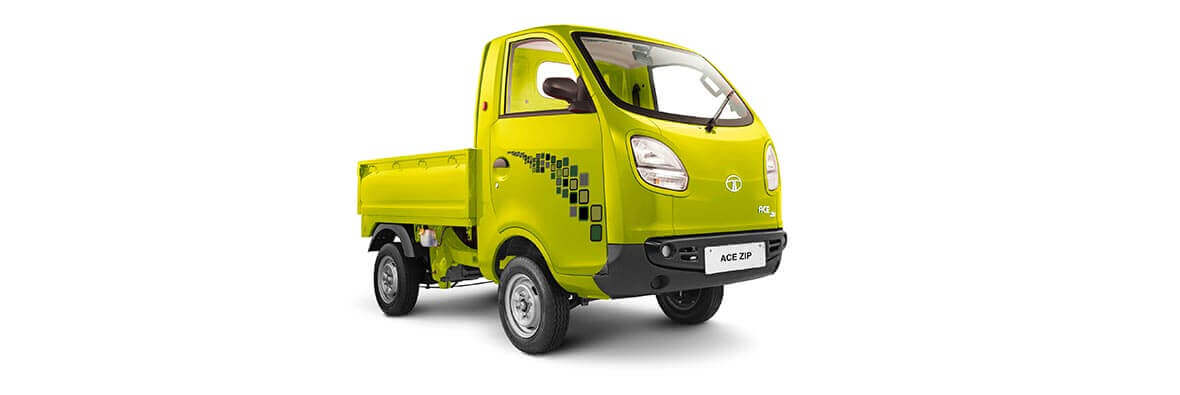 Tata Ace Zip Yellow colour