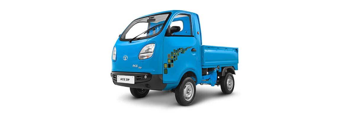 Tata Ace Zip Blue Truck