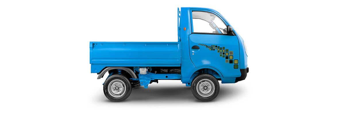 Tata Ace Zip Blue RH Side