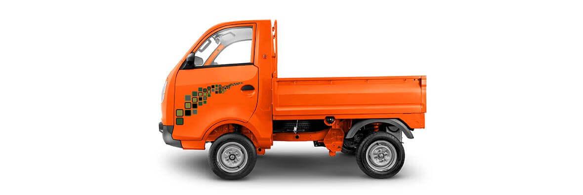Tata Ace Zip Orange Flat LH view