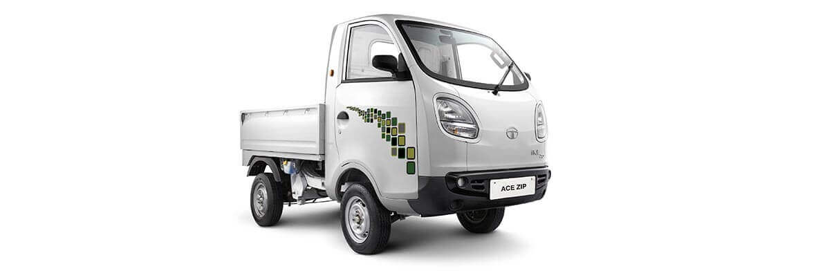 Tata Ace Zip Grey Colour LH Side