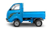 Tata Ace Zip Lh View Blue Colour