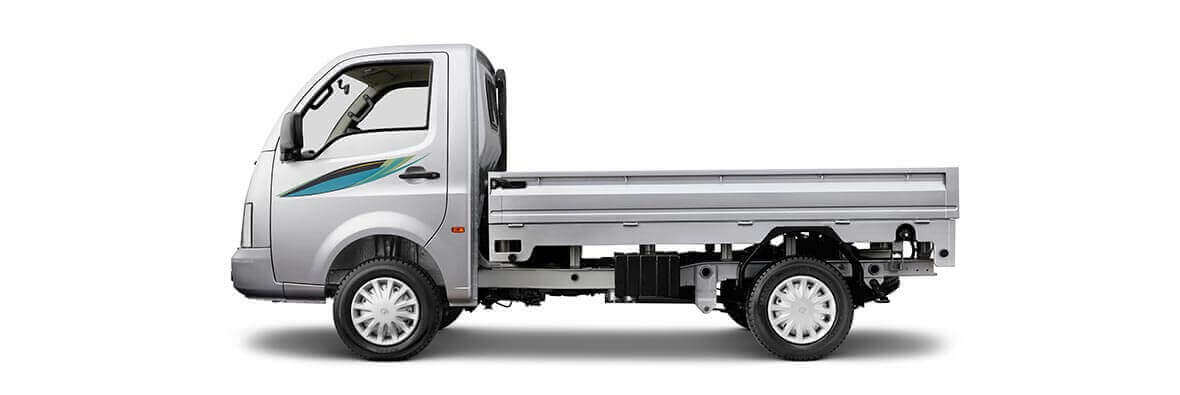 Tata Super Ace Flat Side View