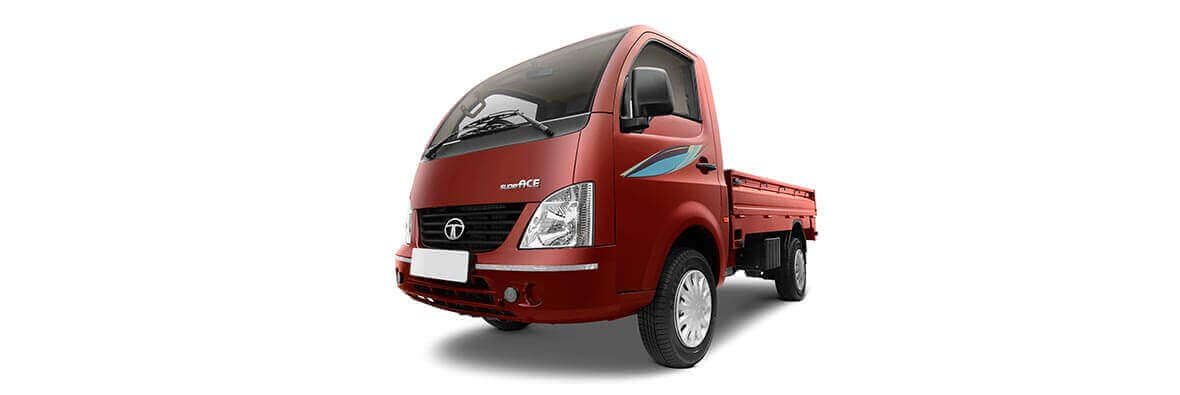 Tata Super Ace Red Colour