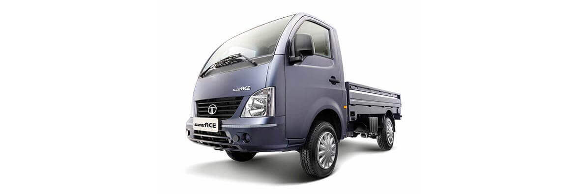 Tata Ace Superace Castle grey LH view