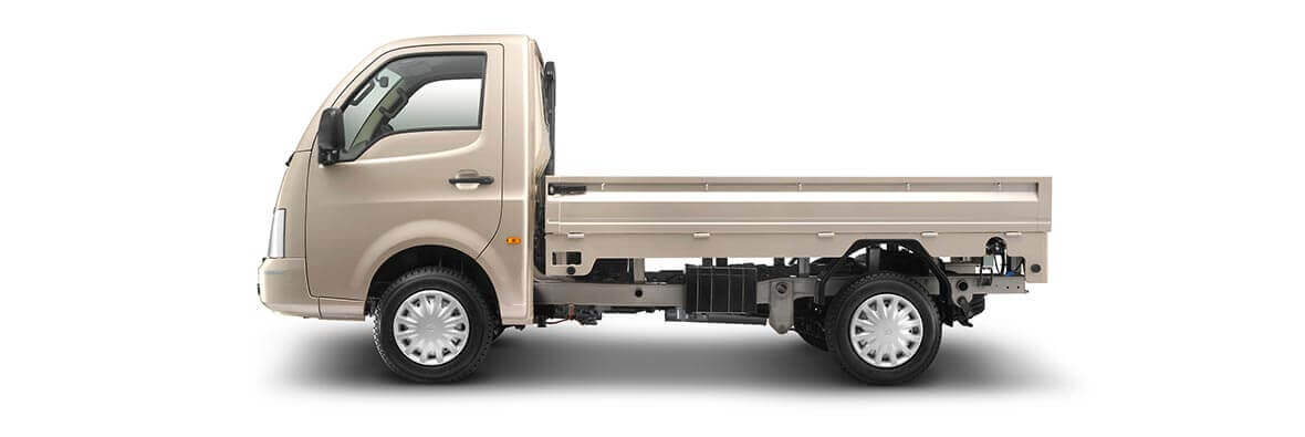 Tata Super Ace Champagne Gold Side View