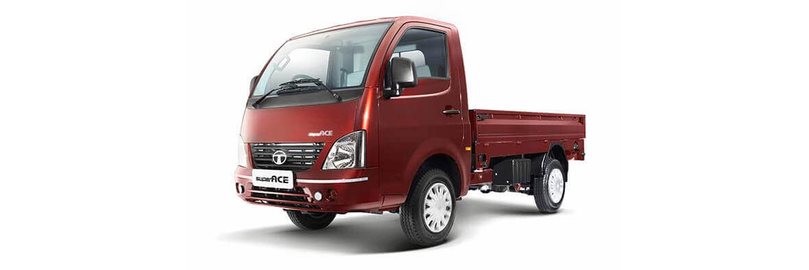 Tata Super Ace Sardinia Red Lh View