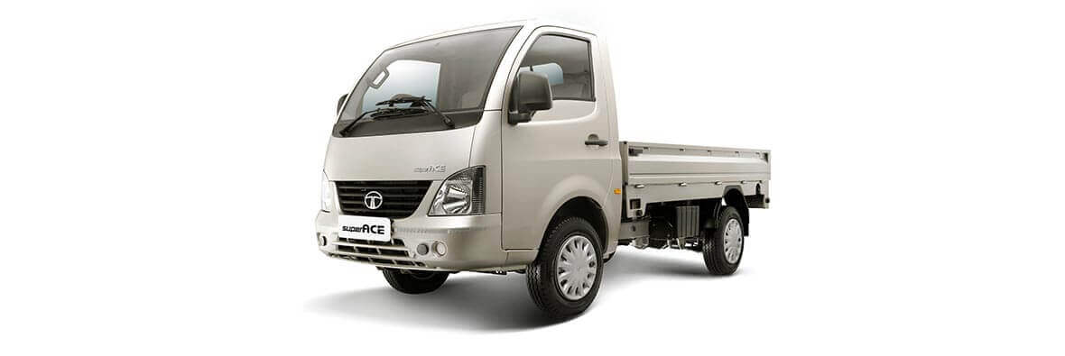 Tata Super Ace Ivory White