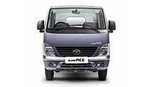 Tata Super Ace Castle Grey Front View