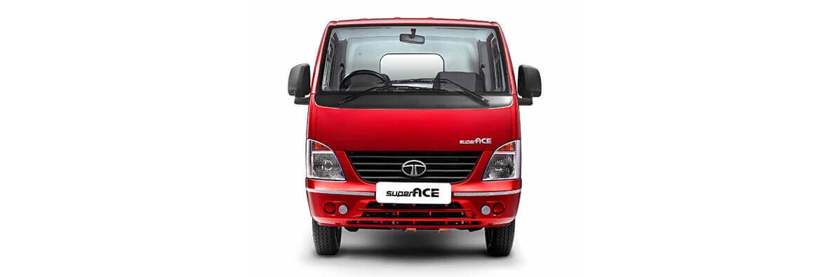Super Ace Front View Blazing Red