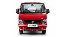 Tata Ace Superace blazing red Front small view