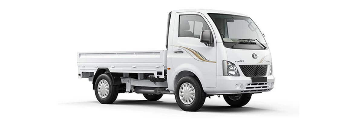 Tata Super Ace Arctic White