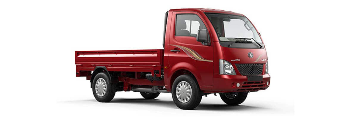 Tata Super Ace Blazing Red Rh View
