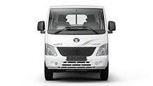 Tata Super Ace Mint Arctic White Front View