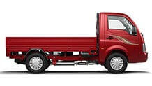 Tata Ace Blazing Red Side View