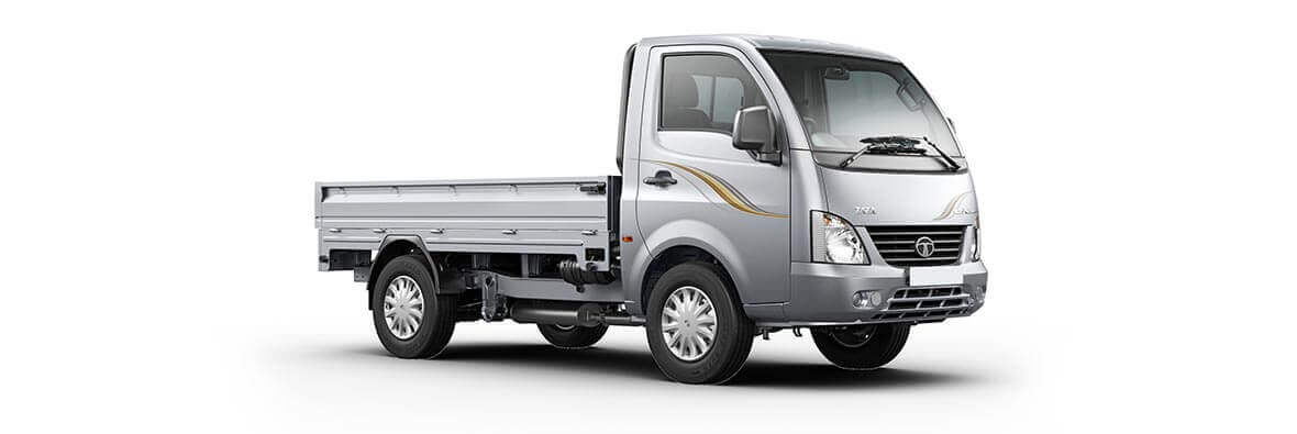 Tata Ace Superace Meteor Silver Side view